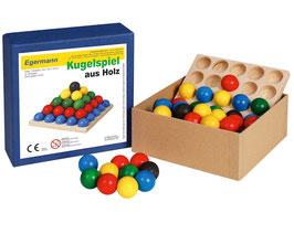 Stapelspiel Kugelspiel Holzkugelspiel 12 x 12