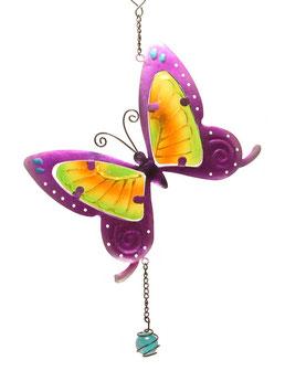 Fensterbild • Wandbild Schmetterling lila