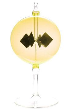 Lichtmühle | Radiometer stehend gelb