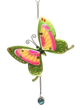 Fensterbild • Wandbild Schmetterling grün