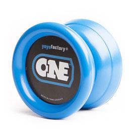 YOYO ONE BLUE von Yoyofactory - für Beginner und Fortgeschrittene Incl. 2. Lager