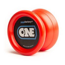 YOYO ONE RED von Yoyofactory - für Beginner und Fortgeschrittene Incl. 2. Lager
