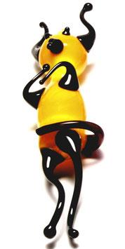 Flaschenteufel • 7cm gelb