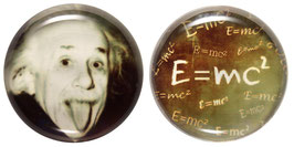 """Glasmagneten • Kühlschrankmagneten Set """"Einstein"""""""