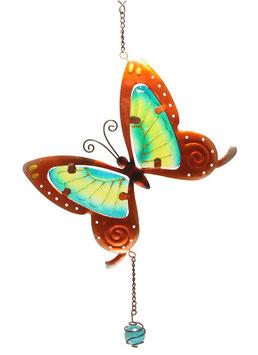 Fensterbild • Wandbild Schmetterling braun