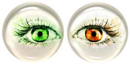 """Glasmagneten • Kühlschrankmagneten Set """"Augen"""""""