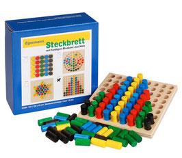 Steckspiel Steckbrett Holzsteckspiel REIHE 12 x 12