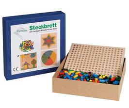 Steckspiel Steckbrett Holzsteckspiel REIHE 24 x 24