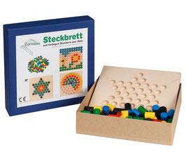 Steckspiel Steckbrett Holzsteckspiel STERN 24 x 24