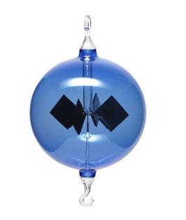 Lichtmühle | Radiometer hängend blau