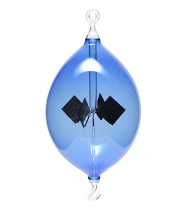 Lichtmühle | Radiometer Olive hängend blau