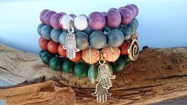 Top schicke Holzperlen in verschiedenen Designs, Holzperlen sind ein Muss, trage am besten gleich zwei drei Perlenarmbänder davon!
