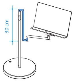 Vertikalverkürzung 30 cm, Art. Nr. 10079