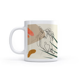Tasse im Minimal Design