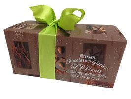 Ballotin 400grs chocolats noirs et lait