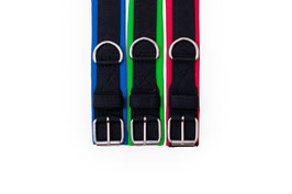 Soft Nylon Half Chock Dog Collar PROFI / Medium / 3 Rings