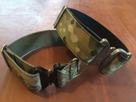 Classic Military Dog Collar with COBRA buckle