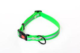 Waterproof reflective dog collar