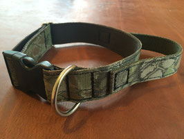 Classic Dog Collar with handle 40 mm / 1.5 inch