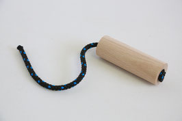 Wooden training roll with rope