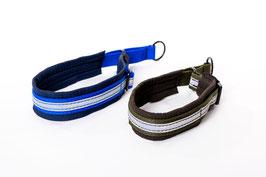Adjustable Soft Nylon Dog Collar Size M