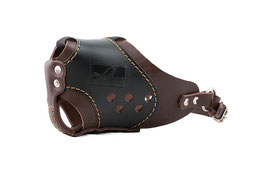 """New Muzzle """"Working Dog"""" / Brown"""