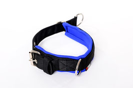 Soft Nylon Half Chock Dog Collar PROFI / Large / 3 Rings