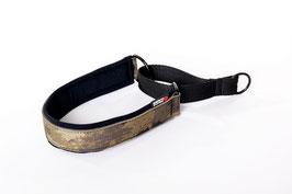 Camouflage  Soft Nylon Half Chock Dog Collar