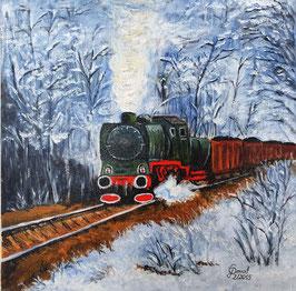 Eisenbahn im Winter