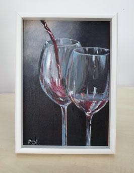 Rotwein-Gläser
