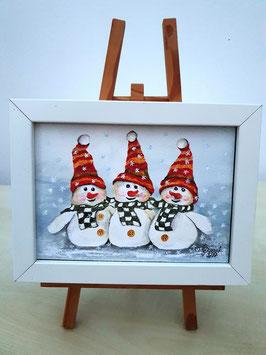 3 Schneemänner