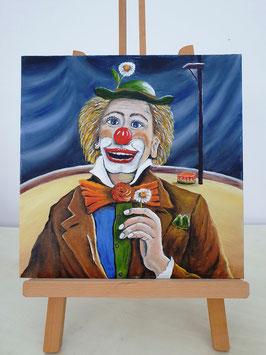 Clown in der Manege