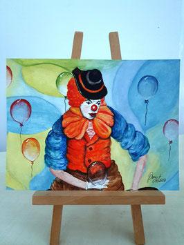 Der stille Clown