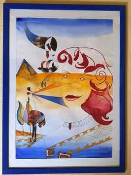 Ägyptisches Pfauenauge