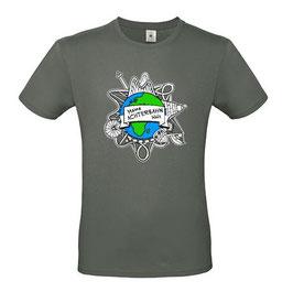 T-Shirt mit Logo (anthrazit)