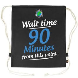 Parkbüddel Wartezeit (Englisch)