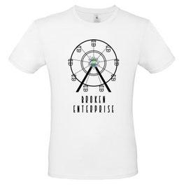 "T-Shirt ""Broken Enterprise"" (Herz, weiß)"