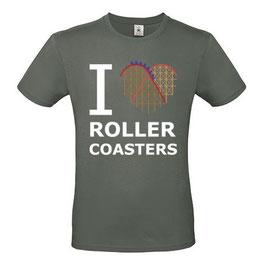 """T-Shirt """"Coaster-Heart"""" (Herz & Spruch, anthrazit)"""
