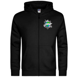 Zipper mit Logo (schwarz)