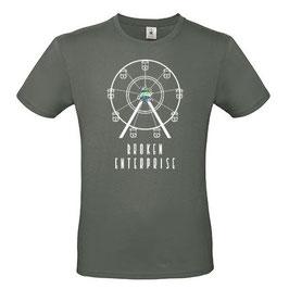 "T-Shirt ""Broken Enterprise"" (Herz, anthrazit)"