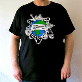 T-Shirt mit Logo (schwarz)