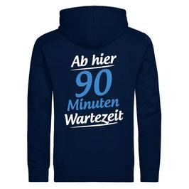 "Zipper ""Wartezeit"" (navy)"