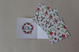 """Weihnachtskarte """"Nistel"""""""