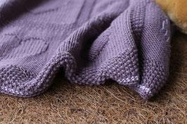 Baby Decke violett
