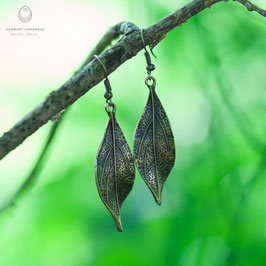 Long leaf earrings 'SoulTribe'