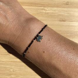 Bracelet doré Spinelle 2mm, REF: BD24-33