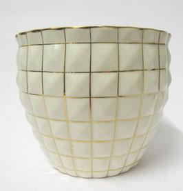 Blumenübertopf Ceramica Revelli Laveno Italia c. 1920