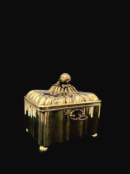 Alt Wien Silber Zuckerdose c. 1840