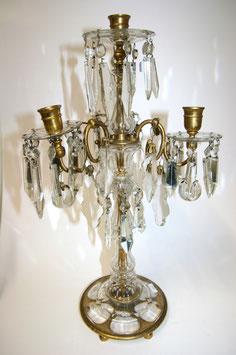 Lobmeyer Kristallglas Leuchter Chandelier c. 1880 / 1900