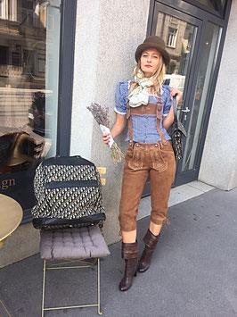 Vintage Wiesn-Outfit Lederhose